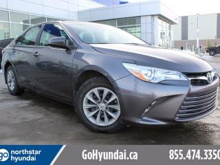 Used 2017 Toyota Camry LE BACKUP CAM/HEATED SEATS/BLUETOOTH for sale in Edmonton, AB