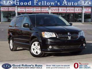 Used 2016 Dodge Caravan CREW, STOW AND GO, 7 PASSENGER for sale in North York, ON