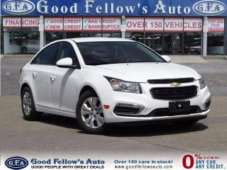 Used 2014 Chevrolet Cruze 1LT MODEL,  Power Windows, Power Door Locks for sale in North York, ON