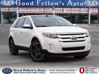 Used 2014 Ford Edge SEL MODEL, AWD, LEATHER SEATS & SUADE, PANROOF for sale in North York, ON