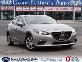 Used 2015 Mazda MAZDA3 GX MODEL,  power mirror, Power Windows, Power Lock for sale in North York, ON