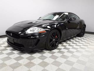 Used 2011 Jaguar XK XKR Black Pack - Local Canadian Trade In | No Accidents | 2 Sets of Tires Included | Bluetooth | Memory Seats | Adaptive Cruise Control | Soft Grain Leather Interior | Navigation | R Heated Steering Wheel | Heated Windshield with Rain Sensing Wipers | Ada for sale in Edmonton, AB