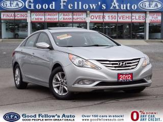 Used 2012 Hyundai Sonata GLS MODEL, ALLOY RIMS, SUNROOF for sale in North York, ON