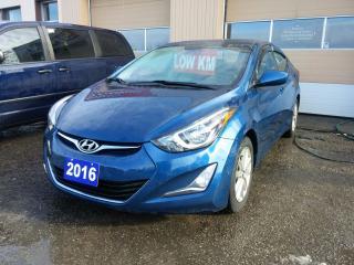 Used 2016 Hyundai Elantra SE for sale in Orillia, ON