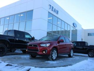 Used 2013 Mitsubishi RVR GT, ACCIDENT FREE, BLUETOOTH, MOONROOF, REAR CAMERA, NAV, KEYLESS ENTRY, ROOF RAILS, LTHER, AWD for sale in Edmonton, AB