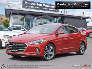 Used 2017 Hyundai Elantra GLS |AUTO|FAC.WARRANTY|ROOF|ALLOY|56000KM for sale in Scarborough, ON