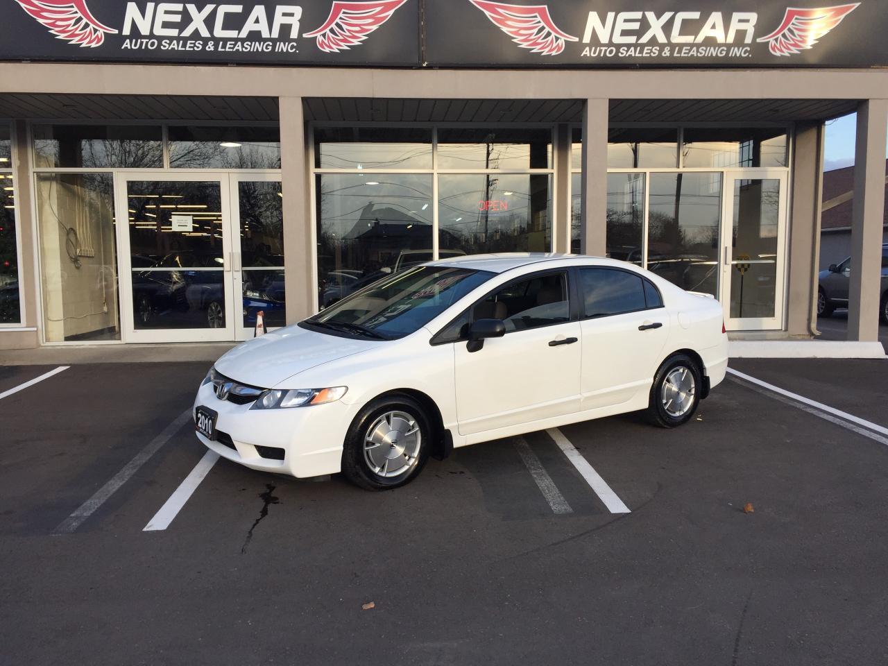Photo of White 2010 Honda Civic