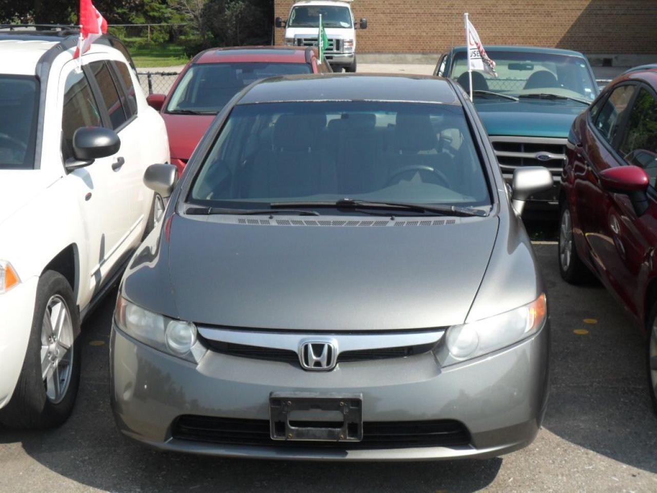 Photo of Gray 2008 Honda Civic