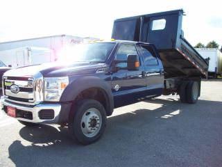 Used 2011 Ford F-550 XLT Crew Cab 4x4 DUMP for sale in Stratford, ON