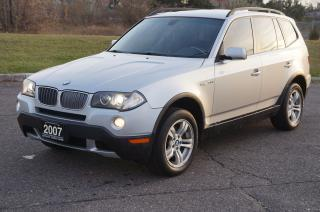 Used 2007 BMW X3 3.0I Panoramic SunRoof No Accident for sale in North York, ON