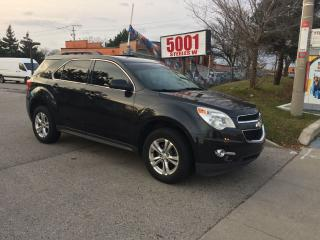 Used 2011 Chevrolet Equinox AWD LEATHER DVD CAM SAFETY+3YEARS WARRANTY INCLUDE for sale in North York, ON