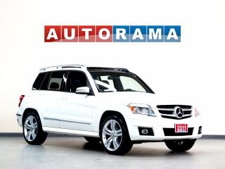 Used 2011 Mercedes-Benz GLK350 NAVIGATION AWD LEATHER PANORAMIC SUNROOF for sale in North York, ON