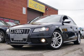 Used 2012 Audi S4 Navi,Bluetooth,Sunroof for sale in North York, ON
