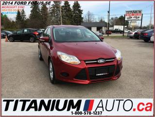 Used 2014 Ford Focus SE+BlueTooth+Heated Seats+Cruise Control+New Tires for sale in London, ON