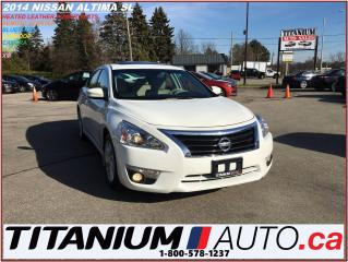 Used 2014 Nissan Altima SL+Camera+Sunroof+Remote Starter+Heated Leather Se for sale in London, ON