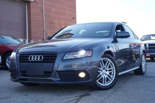 Used 2011 Audi A4 2.0T PREMIUM,Bluetooth,Sunroof for sale in North York, ON