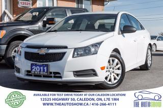 Used 2011 Chevrolet Cruze LS+ w/1SB | NO ACCIDENT | SERVICE RECORD for sale in Caledon, ON