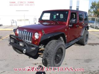 Used 2008 Jeep WRANGLER UNLIMITED SAHARA 4D UTILITY 4WD 3.8L for sale in Calgary, AB