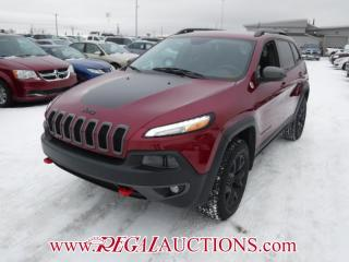Used 2015 Jeep CHEROKEE TRAILHAWK 4D UTILITY 4WD 3.6L for sale in Calgary, AB