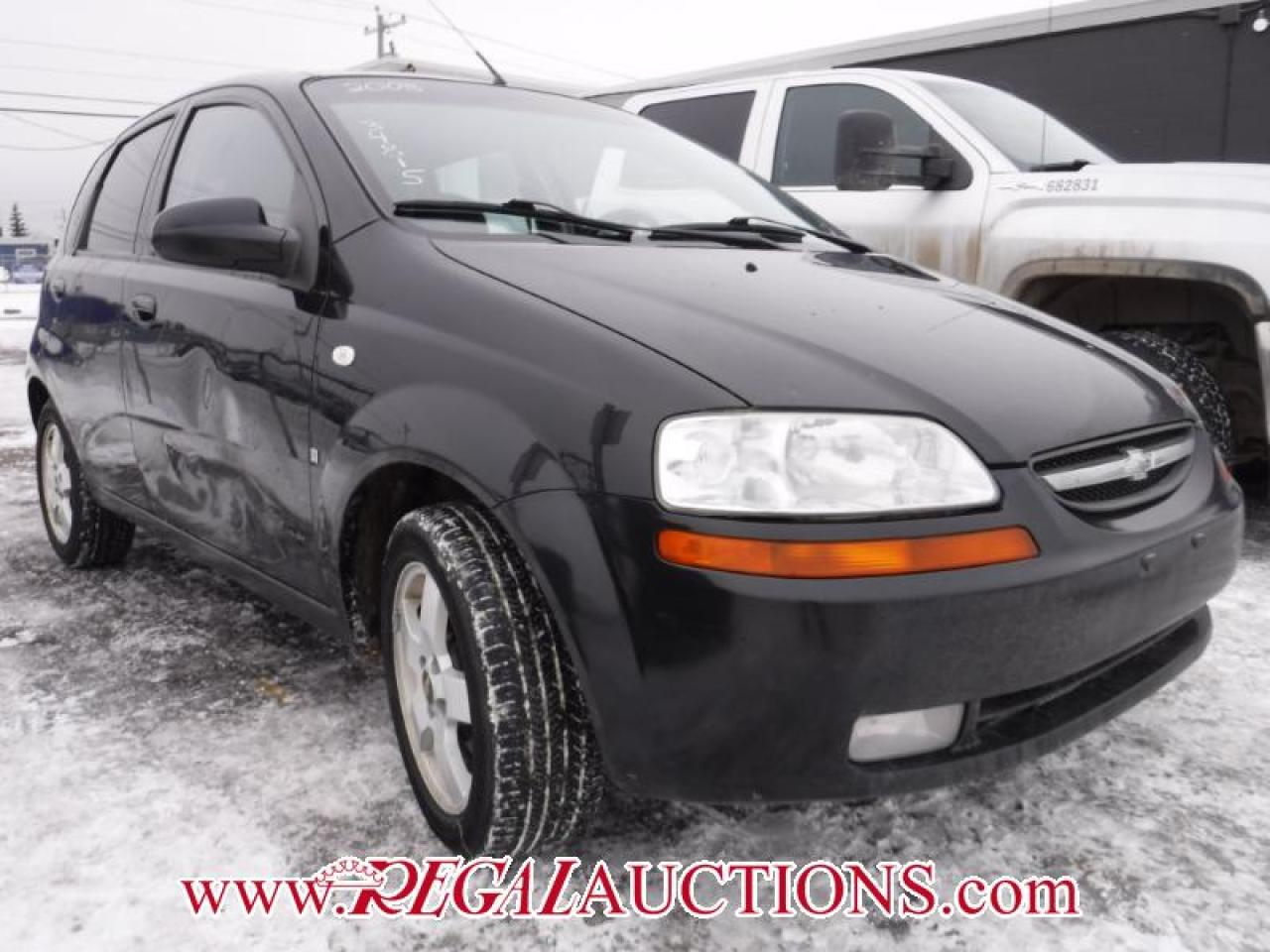 Photo of Black 2008 Chevrolet AVEO LS 4D HATCHBACK