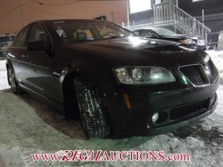 Used 2009 Pontiac G8 GT 4D SEDAN for sale in Calgary, AB