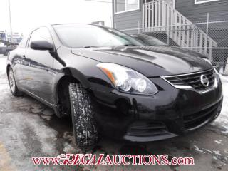 Used 2010 Nissan ALTIMA  2D COUPE for sale in Calgary, AB