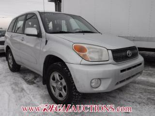 Used 2004 Toyota RAV4  4D HARDTOP AWD for sale in Calgary, AB