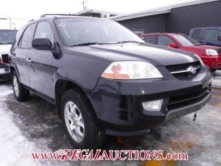 Used 2001 Acura MDX  4D UTILITY AWD for sale in Calgary, AB