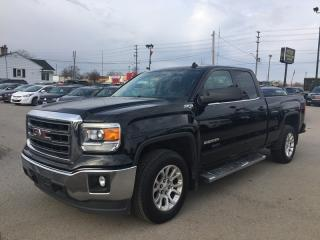 Used 2014 GMC SIERRA 1500 SLE * 4WD * 1 OWNER * REAR CAM * BLUETOOTH * SAT RADIO SYSTEM * LOW KM for sale in London, ON