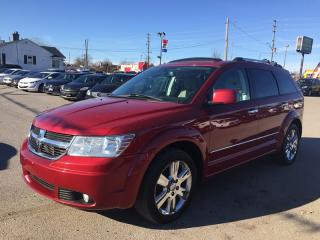 Used 2010 Dodge JOURNEY R/T * AWD * LEATHER * NAV * REAR CAM * SUNROOF * BLUETOOTH * 7 PASS for sale in London, ON