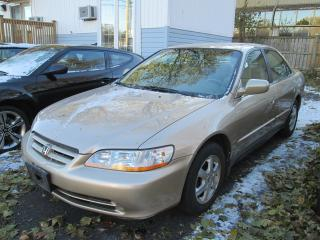 Used 2001 Honda Accord LX-SUPER CLEAN ONLY 139468 KMS for sale in Scarborough, ON