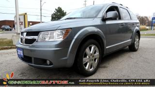 Used 2010 Dodge Journey SXT | LOW KM | NO ACCIDENT | ALLOY | BLUETOOOTH for sale in Oakville, ON