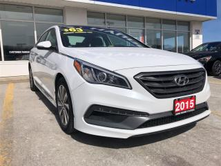Used 2015 Hyundai Sonata Sunroof | Leather for sale in Owen Sound, ON