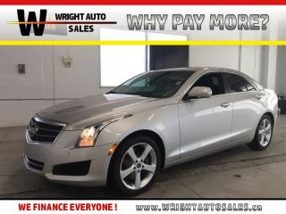 Used 2013 Cadillac ATS Luxury LEATHER SUNROOF LOW MILEAGE 73,998 KMS for sale in Cambridge, ON