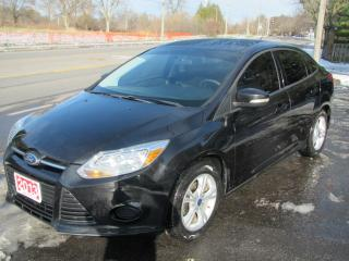 Used 2013 Ford Focus SE SEDAN for sale in Brockville, ON