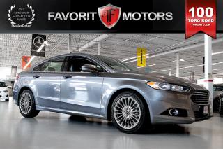 Used 2013 Ford Fusion Titanium ECOBOOST AWD | LTHR | NAV | BACK CAM for sale in North York, ON