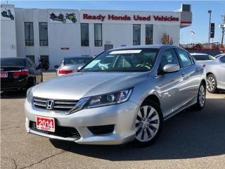 Used 2014 Honda Accord Sedan LX - Rear Camera - Power Seats for sale in Mississauga, ON