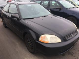 Used 1998 Honda Civic DX | Manual | As-Is for sale in Whitby, ON