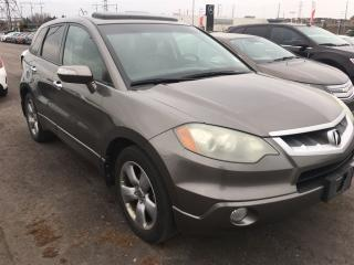 Used 2007 Acura RDX SH-AWD Technology Package | Automatic | As-Is for sale in Whitby, ON