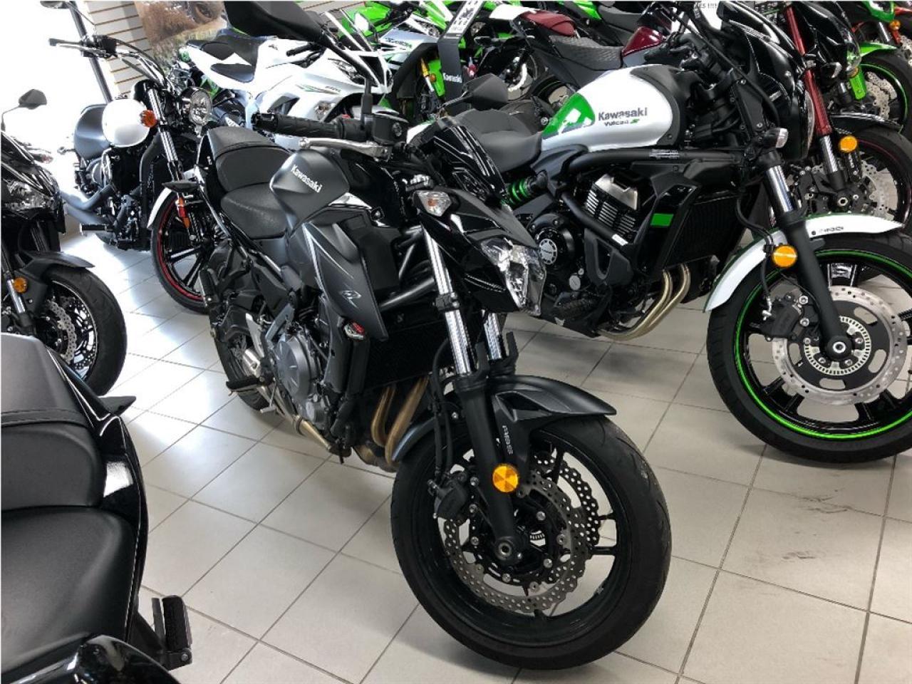 Photo of Black 2017 Kawasaki Z650 ABS