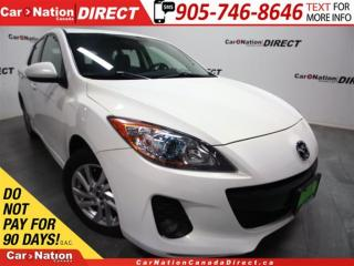 Used 2013 Mazda MAZDA3 GS-SKY| LEATHER| SUNROOF| HEATED SEATS| for sale in Burlington, ON