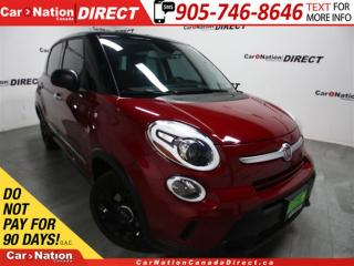 Used 2015 Fiat 500 L Trekking| BACK UP CAMERA & SENSORS| TOUCH SCREEN| for sale in Burlington, ON