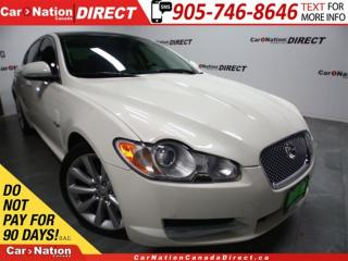 Used 2010 Jaguar XF Premium Luxury| LEATHER| SUNROOF| NAVI| for sale in Burlington, ON