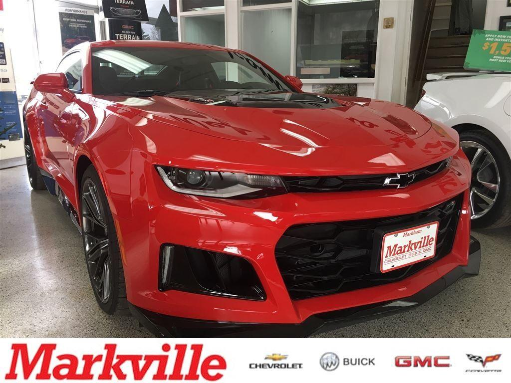 Used 2018 Chevrolet Camaro ZL1 - ONE OWNER TRADE - CERTIFIED PRE ...