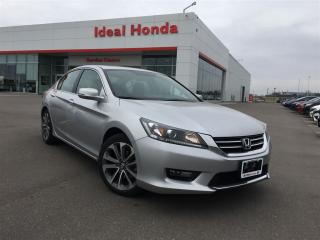 Used 2015 Honda Accord Sedan Sport, Spoiler, Alloy wheels, for sale in Mississauga, ON