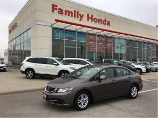 Used 2013 Honda Civic LX (A5) for sale in Brampton, ON