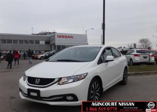 Used 2013 Honda Civic Touring  Navi Camera Leather Roof  for sale in Scarborough, ON