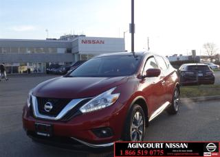 Used 2017 Nissan Murano SL|Navi|Leather|Monnroof|Not a Rental| for sale in Scarborough, ON