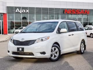 Used 2016 Toyota Sienna 7-Pass V6 6A 7 Passenger Seating*Bluetooth*Alloys for sale in Ajax, ON