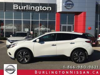 Used 2017 Nissan Murano Platinum for sale in Burlington, ON
